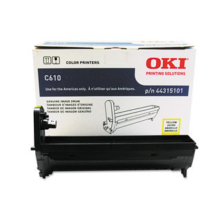 Oki 44315101 Drum 20 000 Page-Yield Yellow