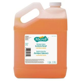 GOJO MICRELL Antibacterial Lotion Soap Light Scent Liquid 1gal Bottle