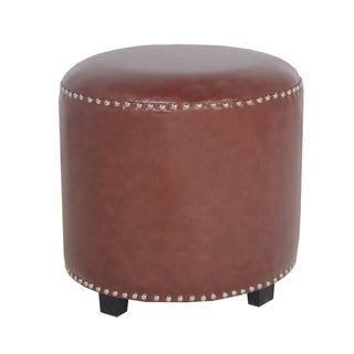 Porthos Home Georgia Leatherette Side Stool