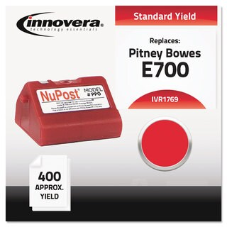 Innovera Compatible with 769-0 Postage Meter 400-600 Page-Yield Red