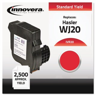 Innovera Compatible WJ20INK 20 Red Postage Meter Ink