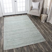 Rizzy Home Hand-Woven Ellington Natural Jute and Wool Rug (3' x 5')