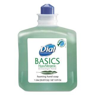 Dial Basics Foaming Hand Soap Refill 1000mL Honeysuckle 6/Carton