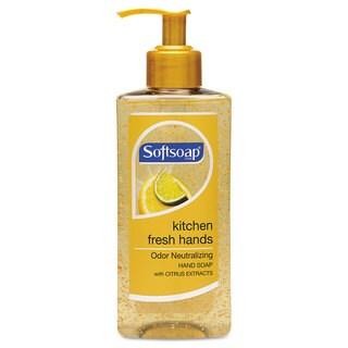 Softsoap Kitchen Fresh Hands Soap Citrus Scent 10-ounce Pump Bottle 6/Carton