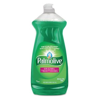 Palmolive Dishwashing Liquid & Hand Soap Original Scent 28-ounce Bottle 9/Carton