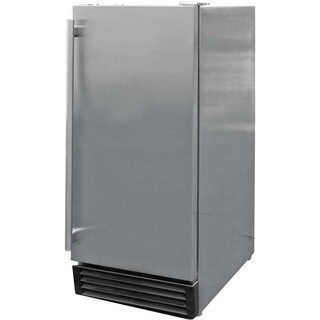 Cal Flame Stainless Steel Outdoor-rated Refrigerator