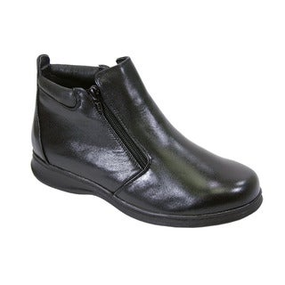 Link to FIC Peerage Juliet Women's Leather Extra Wide Width Casual Ankle Boots Similar Items in Women's Shoes