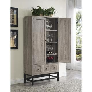 Ameriwood Home Barrett Sonoma Oak Beverage Cabinet|https://ak1.ostkcdn.com/images/products/13881238/P20519807.jpg?impolicy=medium