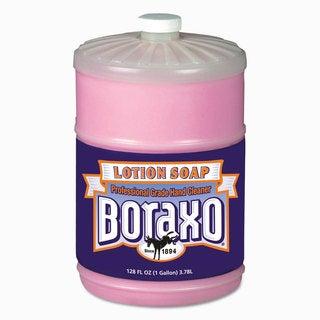 Boraxo Liquid Lotion Soap Pink Floral Fragrance 1gal Bottle 4/Carton