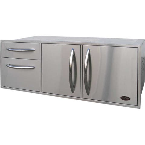 Cal Flame Stainless Steel Utility Storage Set