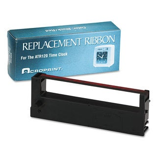 Acroprint 390127000 Ribbon Black/Red