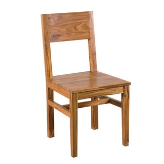 Organic Modern Reclaimed Teak Dining Chair