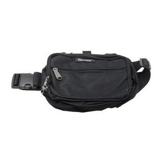 Bulldog Cases Black/Black Nylon Medium Fanny Pack Holster