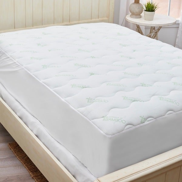 Essence Rayon from Bamboo Mattress Pad - White