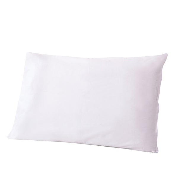 Performance Textiles Water-Resistant, Down-Alternative Bed Pillow - White