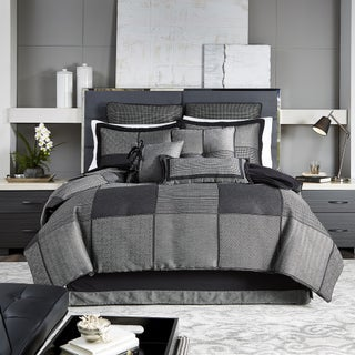 Croscill Oden Jacquard Woven Menswear Collection 4 Piece Comforter Set (3 options available)