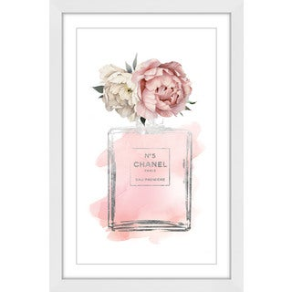 Marmont Hill - 'Floral Peony' by Amanda Greenwood Framed Painting Print