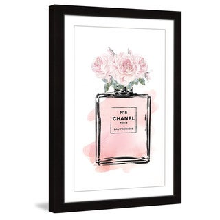 Marmont Hill - 'Rosepeach' by Amanda Greenwood Framed Painting Print