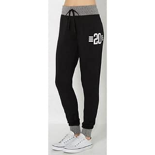 Riviera Women's RAG Black Polyester Stylish Jogger|https://ak1.ostkcdn.com/images/products/13882128/P20520783.jpg?impolicy=medium