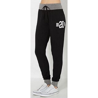Riviera Women's RAG Black Polyester Stylish Jogger
