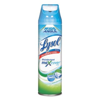 LYSOL Brand Max Cover Disinfectant Mist Garden After Rain 15-ounce Aerosol 12/Carton