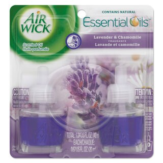 Air Wick Scented Oil Refill Lavender and Chamomile 0.67-ounce 2/Pack