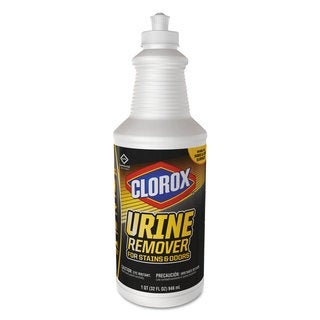 Clorox Urine Remover 32-ounce Bottle Clean Floral Scent 6/Carton