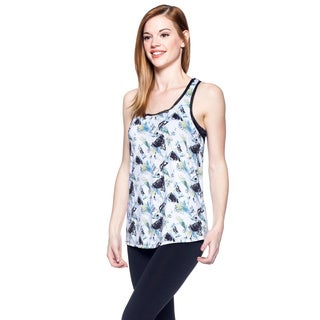 Women's Multicolor Print Yoga Tank Top