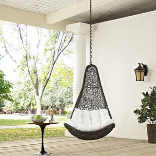 Link to Abate Outdoor Patio Swing Chair Similar Items in Hammocks & Swings
