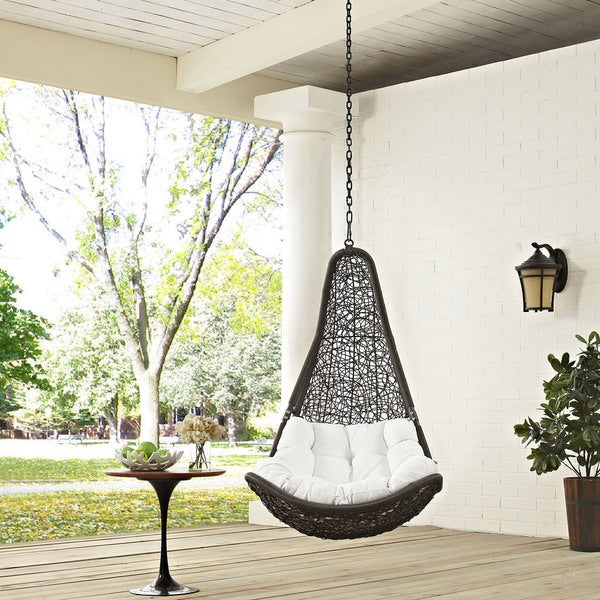 Shop Abate Outdoor Patio Swing Chair Free Shipping Today