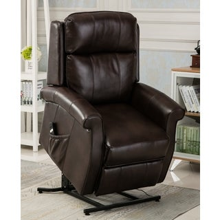 Greyson Living Lawrence Brown Traditional Lift Chair