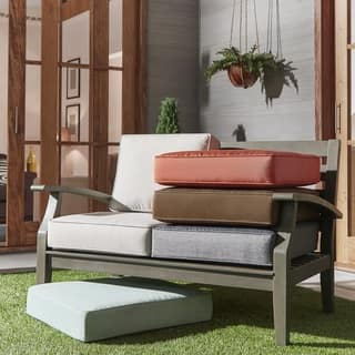 Isola Outdoor Fabric Loveseat Cushions iNSPIRE Q Oasis|https://ak1.ostkcdn.com/images/products/13884147/P20522410.jpg?impolicy=medium