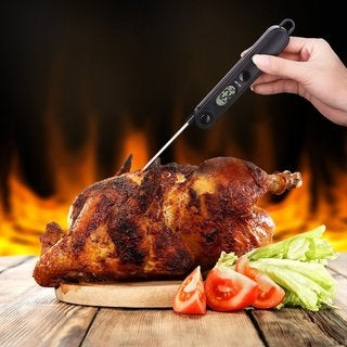 Digital Cooking Food Thermometer - Black