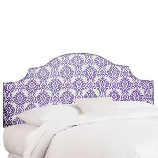 Skyline Furniture Luminary Lilac Nail Button Notched Headboard