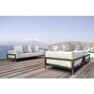 SOLIS Nubis Sofa Set Indoor Outdoor Deep Seated 4-piece Set