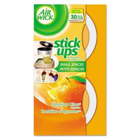 Air Wick Stick Ups Air Freshener 2.1oz Sparkling Citrus 12/Carton