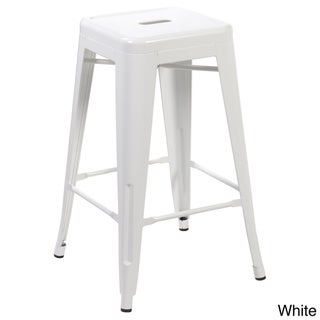Industrial Counter Dining 26.4-inch Barstool (Set of 4)