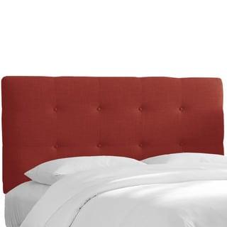 Skyline Furniture Linen Tufted Upholstered Headboard