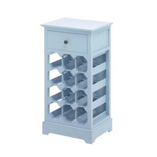 Koehler Home Blue Somerset 12-bottle Wine Cabinet