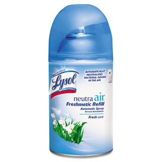 LYSOL NEUTRA AIR FRESHMATIC Spray Dispenser Refill Fresh Scent Aerosol 6.17oz 6/Carton