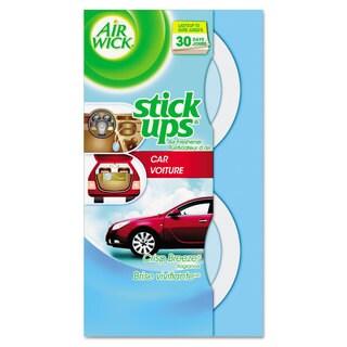 Air Wick Stick Ups Car Air Freshener 2.1oz Crisp Breeze