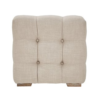 Knightsbridge Linen Fabric Tufted Bench by SIGNAL HILLS