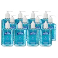 PURELL Ocean Mist Instant Hand Sanitizer 8-ounce Pump Bottle Blue