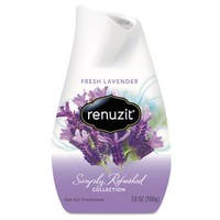 Renuzit Adjustables Air Freshener Fresh Lavender Solid 7 oz 12/Carton