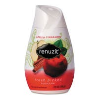 Renuzit Adjustables Air Freshener Apples and Cinnamon 7-ounce Cone 12/Carton