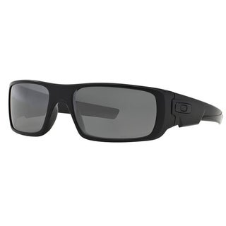 Oakley Crankshaft OO9239-06 Men'sMatte Black Frame Black Iridium Polarized Lens Sunglasses