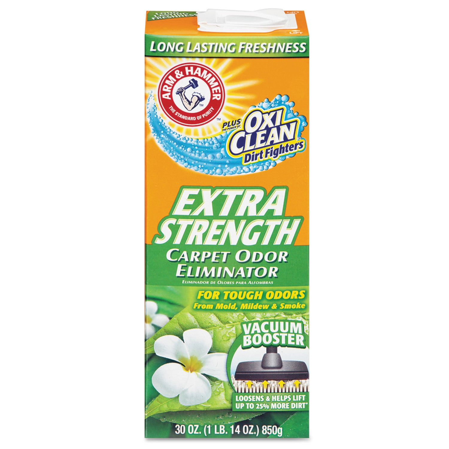 Arm & Hammer Deodorizing Carpet Cleaning Powder Fresh 30 ...