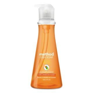Method Dish Soap Clementine 18-ounce Pump Bottle 6/Carton