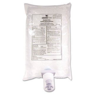 Rubbermaid Commercial AutoFoam Hand Sanitizer Refill Alcohol-Free Clear 1100mL 4/Carton