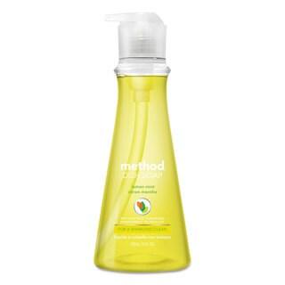 Method Dish Soap Lemon Mint 18-ounce Pump Bottle 6/Carton